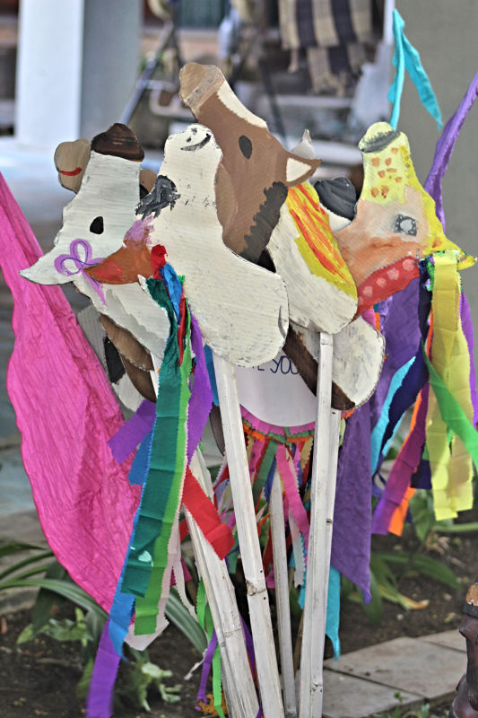 Horse Making Party Activity - Finished Horses