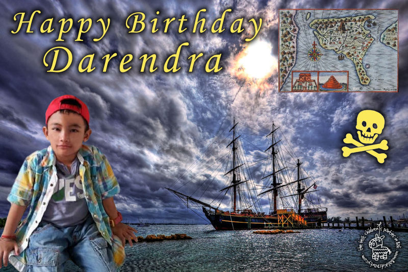 Darendra's Pirate Party Banner