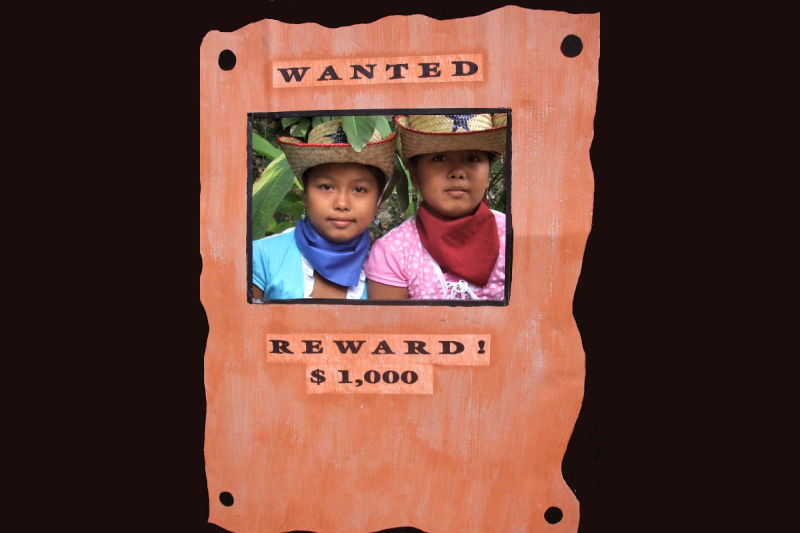 The Twins the Wanted Poster