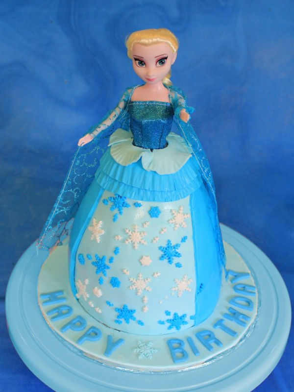 Frozen Princess Elsa Cake