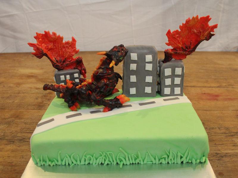 Godzilla Cake Recipe