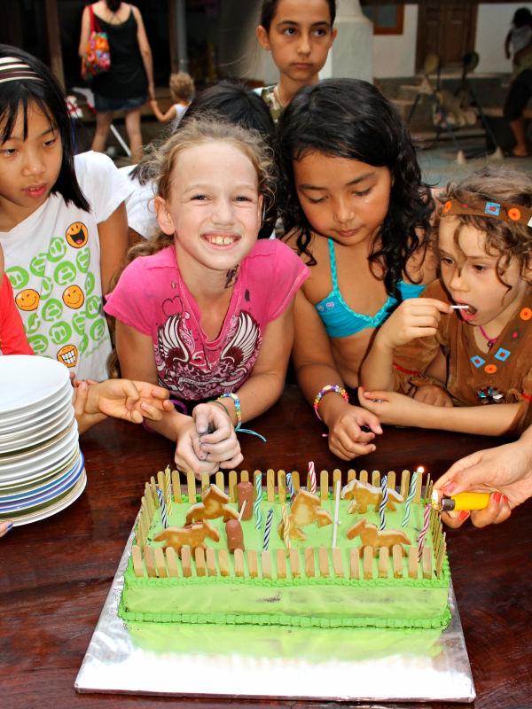 Bali Kids Party Handmade Cakes The Best Children S