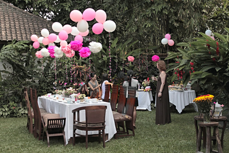 Bali kids party professional photography the best for Adult birthday party decoration ideas
