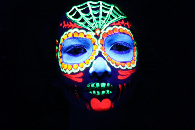 Ben Sugar Skull Black Light (UV)