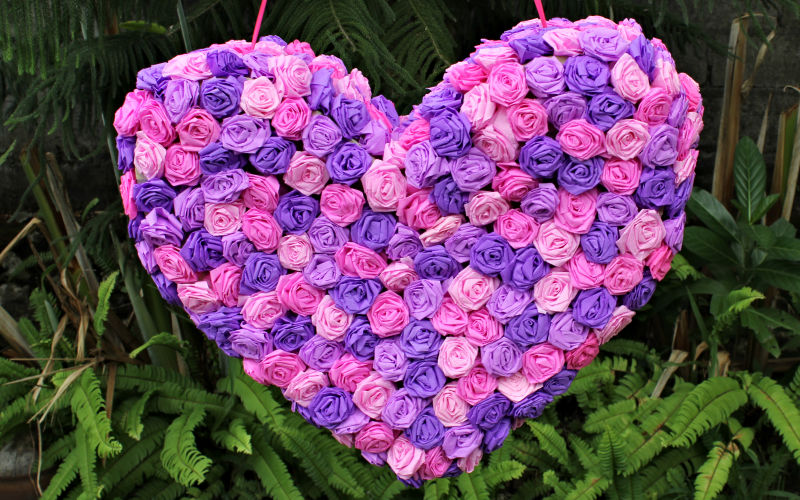 Beautiful Heart Pinata