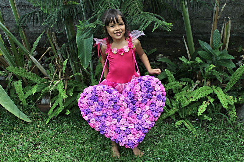 Jemima with Heart Pinata