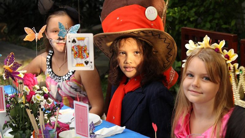 Mad Hatters Tea Party Guests