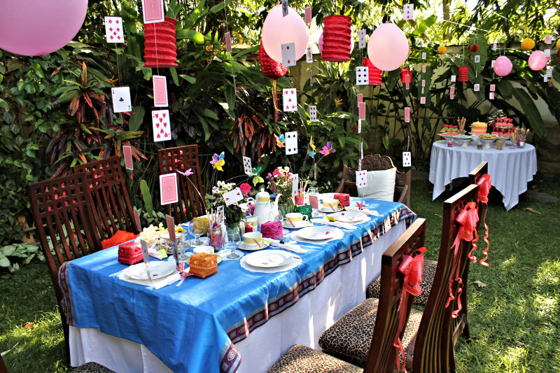 Mad Hatter S Tea Party In Wonderland